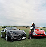 Holly Mason, with Alfa Romeo, Aston Martin and Bugatti