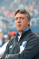 KANSAS CITY, KS - June 1, 2013:<br /> Marco Schallibaum Head Coach Montreal Impact.<br /> Montreal Impact defeated Sporting Kansas City 2-1 at Sporting Park.
