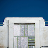 A detail of a steel framed window in a Bauhaus style building at 3 Gezer Street. Tel Aviv is known as the White City in reference to its collection of 4,000 Bauhaus style buildings, the largest number in any city in the world. In 2003 the Bauhaus neighbourhoods of Tel Aviv were placed on the UNESCO World Heritage List. ...