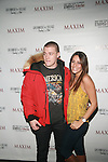 MTV's Real World's Colie Edison and Davis Mallory Attend Maxim Magazine's Annual Maxim Party at the Greenwich Village Country Club, NY   2/4/12