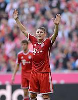 Fussball  1. Bundesliga  Saison 2013/2014  9. Spieltag FC Bayern Muenchen - 1. FSV Mainz     19.10.2013 Bastian Schweinsteiger (FC Bayern Muenchen)