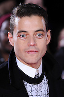 Rami Malek at the UK premiere of &quot;The Lost City of Z&quot; at the British Museum, London, UK. <br /> 16 February  2017<br /> Picture: Steve Vas/Featureflash/SilverHub 0208 004 5359 sales@silverhubmedia.com