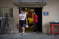 El Paso, TX - December 29, 2016: The Stanford Cardinal prepares for the Sun Bowl in El Paso, Texas.