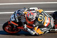 Marc Marquez in the last Qualifying lap