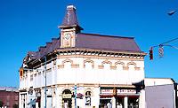 Victoria: Masonic Temple, NW Corner. Douglas & Fisgard, John Teague, 1878.  Photo '88.