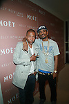 Kevin Liles and Big Sean attend Moët & Chandon and Kelly Rowland debut the Rosé Lounge with an exclusive celebration for Kelly Rowland's new album Here I Am at The Standard Hotel, NY  7/26/11