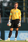 28 August 2015: North Carolina's James Pyle. The University of North Carolina Tar Heels hosted the Florida International University Panthers at Fetzer Field in Chapel Hill, NC in a 2015 NCAA Division I Men's Soccer match. North Carolina won the game 1-0