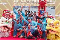CHINA, Sanya. 4th February 2012. Volvo Ocean Race. Leg 3 Arrivals. Team Telefonica.