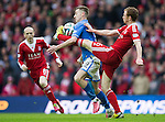 St Johnstone v Aberdeen...13.04.14    William Hill Scottish Cup Semi-Final, Ibrox<br /> Steven MacLean and Mark Reynolds<br /> Picture by Graeme Hart.<br /> Copyright Perthshire Picture Agency<br /> Tel: 01738 623350  Mobile: 07990 594431