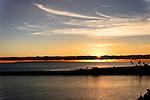 Sunset at the Wedge 2, Balboa Peninsula, CA.