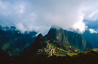 Morning at Machu Picchu, Peru, 2016.