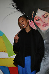 Filmmaker, Photographer, and Artist's muse Brandee Brown  Attends alice+olivia by Stacey Bendet & David Choe Present a Night of Fashion and Art at 450 West 14th Street, NY