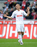 FUSSBALL   1. BUNDESLIGA  SAISON 2011/2012   34. Spieltag 1. FC Koeln - FC Bayern Muenchen        05.05.2012 Lukas Podolski (1. FC Koeln)