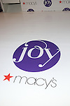 "Macy's welcomes Joy Mangano, the woman who inspired the newly released movie ""JOY"" by 20th Century Fox, to Herald Square."