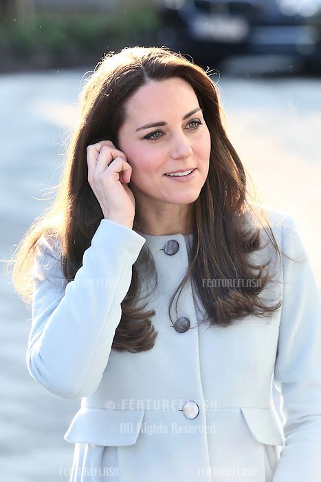 The Duchess of Cambridge, Kate Middleton, opens the Kensington Aldridge Academy, London. 19/01/2015 Picture by: James Smith / Featureflash
