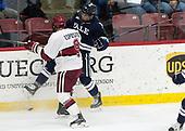 Luke Esposito (Harvard - 9), Matt Foley (Yale - 4) - The Harvard University Crimson tied the visiting Yale University Bulldogs 1-1 on Saturday, January 21, 2017, at the Bright-Landry Hockey Center in Boston, Massachusetts.