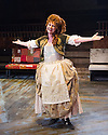 London, UK. 29.11.2013. CANDIDE opens at the Menier Chocolate Factory, directed by Matthew White and choreographed by Adam Cooper. Picture shows: Jackie Clune (Old Lady). Photograph © Jane Hobson.