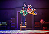 The Mad Hatter&rsquo;s Tea Party <br /> by Zoo Nation<br /> directed by Kate Prince<br /> presented by Zoo Nation, The Roundhouse &amp; The Royal Opera House<br /> at The Roundhouse, London, Great Britain <br /> rehearsal <br /> 29th December 2016 <br /> <br /> <br /> Issac Turbo Baptiste<br /> as the Mad Hatter <br /> <br /> <br /> <br /> <br /> Jaith Betote as The White Rabbit <br /> <br /> Photograph by Elliott Franks <br /> Image licensed to Elliott Franks Photography Services