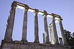 Roman Temple - Diana, Evora, Alto Alentejo, Portugal