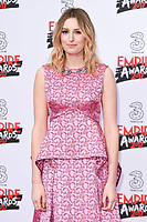 Laura Carmichael at the Empire Film Awards 2017 at The Roundhouse, Camden, London, UK. <br /> 19 March  2017<br /> Picture: Steve Vas/Featureflash/SilverHub 0208 004 5359 sales@silverhubmedia.com