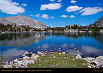 Chickenfoot Lake, Little Lakes Valley, Eastern Sierras, Mono County, California