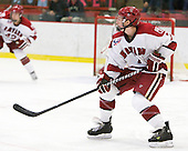Danny Fick (Harvard - 7) - The visiting Quinnipiac University Bobcats defeated the Harvard University Crimson 3-1 on Wednesday, December 8, 2010, at Bright Hockey Center in Cambridge, Massachusetts.
