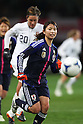 Aya Sameshima (JPN), .April 1, 2012 - Football / Soccer : .KIRIN Challenge Cup 2012 .Match between Japan 1-1 USA .at Yurtec Stadium Sendai, Miyagi, Japan. .(Photo by Daiju Kitamura/AFLO SPORT) [1045]..