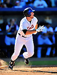 7 March 2010: New York Mets' infielder Ike Davis in action during a Spring Training game against the Washington Nationals at Tradition Field in Port St. Lucie, Florida. The Mets edged out the Nationals 6-5 in Grapefruit League pre-season play. Mandatory Credit: Ed Wolfstein Photo