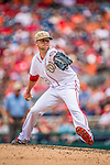 27 May 2013: Washington Nationals pitcher Drew Storen on the mound against the Baltimore Orioles at Nationals Park in Washington, DC. The Orioles defeated the Nationals 6-2, taking the Memorial Day, first game of their interleague series. Mandatory Credit: Ed Wolfstein Photo *** RAW (NEF) Image File Available ***
