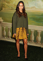 NEW YORK CITY, NY, USA - SEPTEMBER 08: Cara Santana arrives at the alice + olivia by Stacey Bendet Spring 2015 NYFW Presentation held at The Pierre Hotel on September 8, 2014 in New York City, New York, United States. (Photo by Celebrity Monitor)