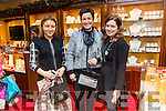 Billy Nolan's Jewellers Black Friday Christmas Discount night Pictured Ciara Walsh, Julie Walsh and Stacey Moriarty