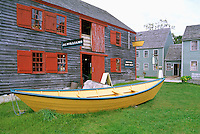 The Dory Shop in the Historic District of Shelburne, Nova Scotia, Canada