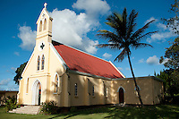 Mauritius. Village Church. village of Olivia.