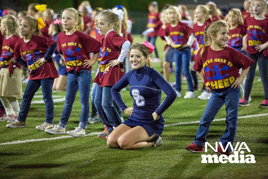 Photos by David Beach - at Champion Stadium, Springdale, AR, Friday October 7, 2016, (Prairie Grove Tigers vs Shiloh Christian Saints)