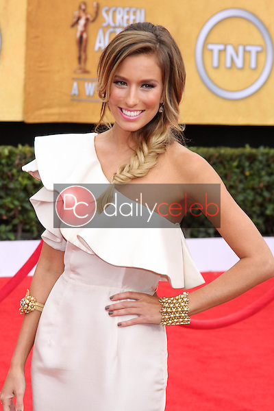 LOS ANGELES - JAN 30:  Renee Bargh arrives at the 2011 Screen Actors Guild Awards  at Shrine Auditorium on January 30, 2011 in Los Angeles, CA