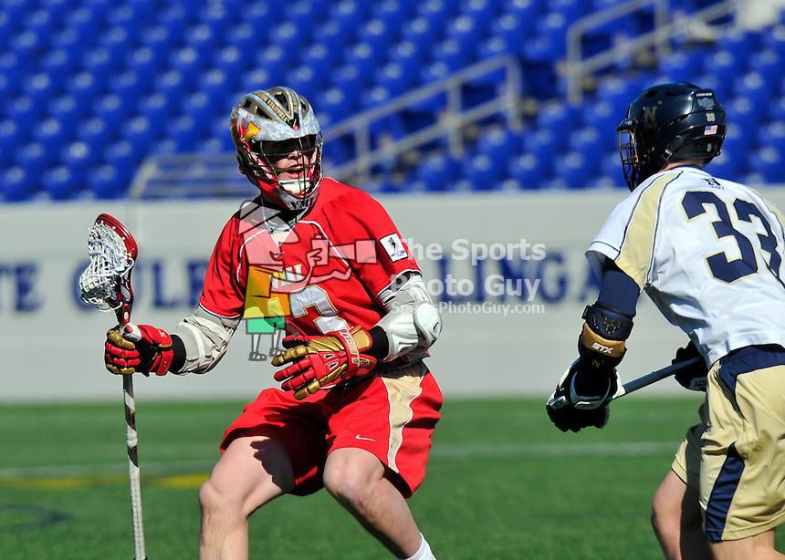 NCAA Men's Lacrosse: Navy Midshipmen handle Keydets in lacrosse opener, 20-7