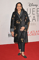 Mira Nair at the &quot;Queen of Katwe&quot; 60th BFI London Film Festival Virgin Atlantic gala screening, Odeon Leicester Square cinema, Leicester Square, London, England, UK, on Sunday 09 October 2016.<br /> CAP/CAN<br /> &copy;CAN/Capital Pictures /MediaPunch ***NORTH AND SOUTH AMERICAS ONLY***