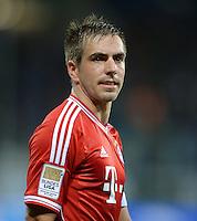 Fussball  1. Bundesliga  Saison 2013/2014   11. Spieltag  in Sinzheim TSG 1899 Hoffenheim - FC Bayern Muenchen    02.11.2013 Philipp Lahm (FC Bayern Muenchen)