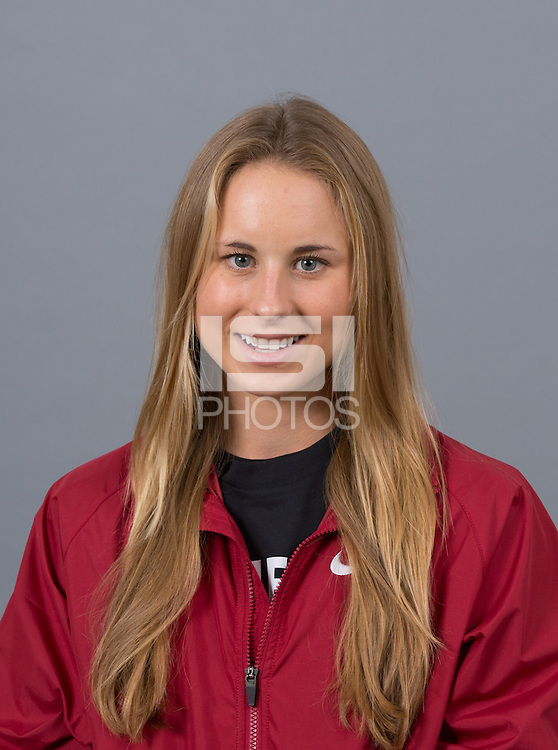 STANFORD, CA - SEPTEMBER 24, 2014--Jessica Tonn, with Stanford University Cross Country Team