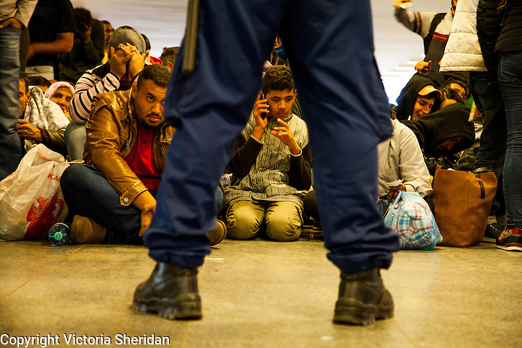 The Migrant Crisis -- Budapest Journey -- Monday, September 13, 2015