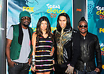 Black Eyed Peas at the 2009 Teen Choice Awards on August 9th,2009 at Gibson Amphitheatre in Universal City..Photo by Chris Walter/Photofeatures