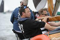 ZEILEN: HEEG: Hegemer Mar, 16-08-2016, IFKS Skûtsjesilen, Winnaar Arend Wisse de Boer (Gorredijk) ©foto Martin de Jong