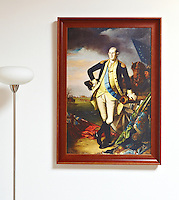 "Framed Digital Reproduction of Peale, Charles Willson (1741-1827) George Washington after the battle of Princeton, January 3, 1777- 1779 Framed Size 29"" x 41"""