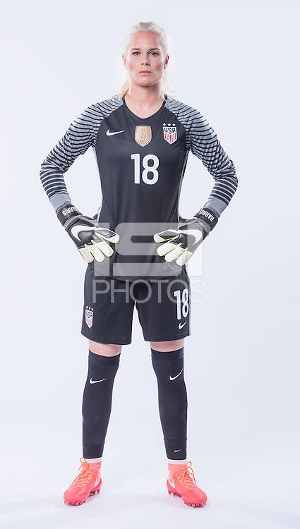 Orlando, Fl - April 1, 2016: The 2016 United States National Women's Team