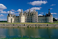 Chateau Chambord in the Loire Valley, France