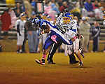 Water Valley's Jarard Smith (22) scores vs. Mantachie in high school football action in Water Valley, Miss. on Friday, October 26, 2012. Water Valley won 56-3.