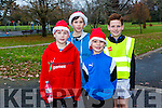 Enjoying the Tralee Junior Park Run on Sunday were Cathal Murphy, Darragh Murphy, Sean Murphy and Darragh Cunnane