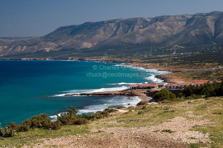 Cyrenaica, Libya - Ras al-Hillal Bay, Mediterranean, Jebal Akhdar