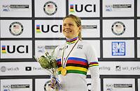 Picture by Simon Wilkinson/SWpix.com - 04/03/2017 - Cycling 2017 UCI Para-Cycling Track World Championships, Velosports Centre, Los Angeles USA - POLAND Anna HARKOWSKA