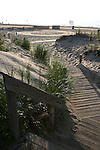 Steps lead to the beach in Ocean Grove,  New Jersey. Photo By Bill Denver/EQUI-PHOTO